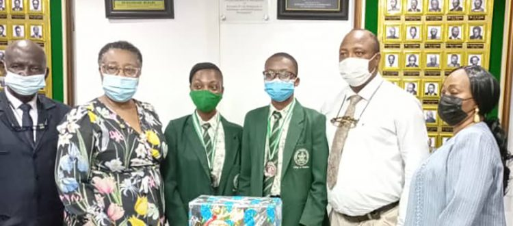 DPA Students Honored by Lagos State Givt.